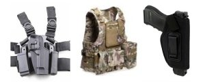 Tactical Vests & Holsters
